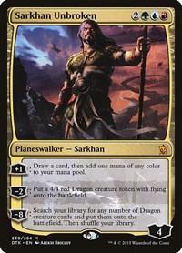 Sarkhan Unbroken, Magic, Dragons of Tarkir