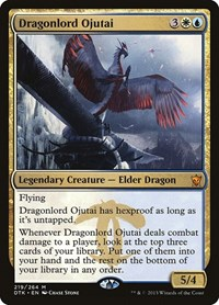 Dragonlord Ojutai, Magic: The Gathering, Dragons of Tarkir
