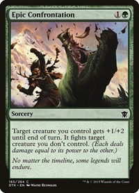 Epic Confrontation, Magic: The Gathering, Dragons of Tarkir