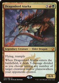 Dragonlord Atarka, Magic: The Gathering, Dragons of Tarkir