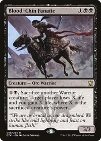 Blood-Chin Fanatic, Magic: The Gathering, Dragons of Tarkir