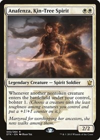 Anafenza, Kin-Tree Spirit, Magic: The Gathering, Dragons of Tarkir