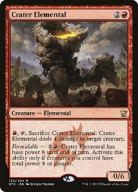 Crater Elemental, Magic: The Gathering, Dragons of Tarkir