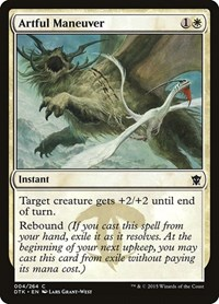 Artful Maneuver, Magic: The Gathering, Dragons of Tarkir