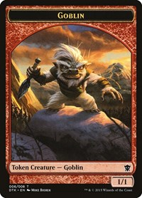 Goblin Token, Magic: The Gathering, Dragons of Tarkir