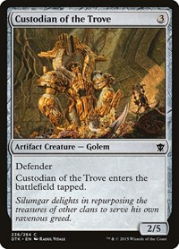 Custodian of the Trove, Magic, Dragons of Tarkir