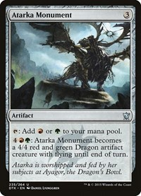 Atarka Monument, Magic: The Gathering, Dragons of Tarkir