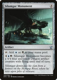 Silumgar Monument, Magic, Dragons of Tarkir