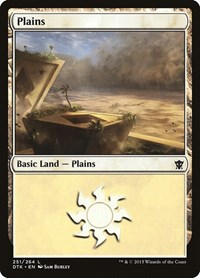Plains (251), Magic: The Gathering, Dragons of Tarkir