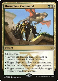 Dromoka's Command, Magic: The Gathering, Dragons of Tarkir