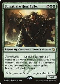 Surrak, the Hunt Caller, Magic: The Gathering, Dragons of Tarkir