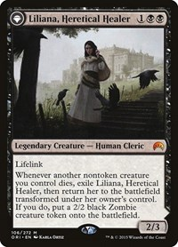 Liliana, Heretical Healer, Magic, Magic Origins