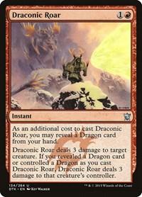Draconic Roar, Magic: The Gathering, Dragons of Tarkir