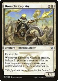 Dromoka Captain, Magic: The Gathering, Dragons of Tarkir