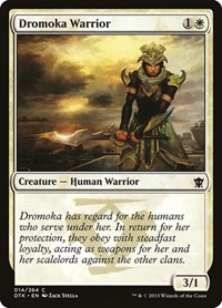 Dromoka Warrior, Magic, Dragons of Tarkir