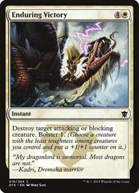 Enduring Victory, Magic: The Gathering, Dragons of Tarkir