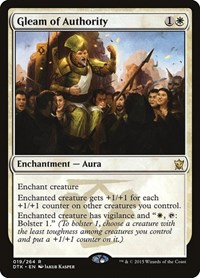 Gleam of Authority, Magic: The Gathering, Dragons of Tarkir