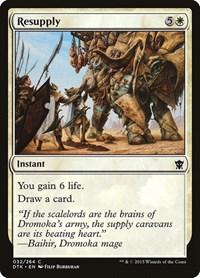 Resupply, Magic: The Gathering, Dragons of Tarkir