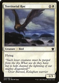 Territorial Roc, Magic: The Gathering, Dragons of Tarkir