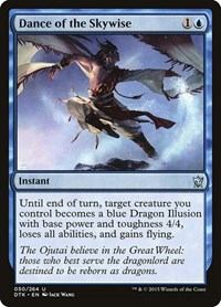 Dance of the Skywise, Magic: The Gathering, Dragons of Tarkir