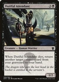 Dutiful Attendant, Magic: The Gathering, Dragons of Tarkir