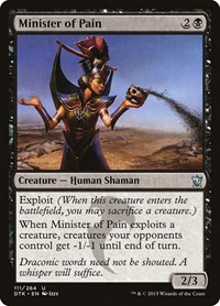 Minister of Pain, Magic, Dragons of Tarkir
