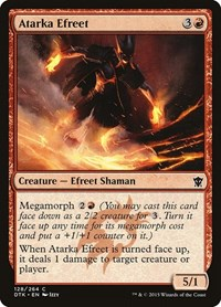 Atarka Efreet, Magic: The Gathering, Dragons of Tarkir