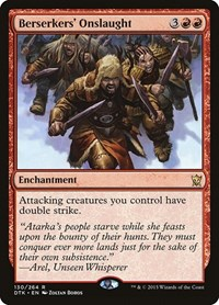 Berserkers' Onslaught, Magic: The Gathering, Dragons of Tarkir