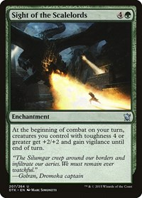 Sight of the Scalelords, Magic: The Gathering, Dragons of Tarkir
