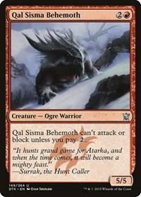 Qal Sisma Behemoth, Magic, Dragons of Tarkir
