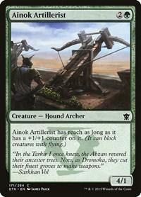 Ainok Artillerist, Magic: The Gathering, Dragons of Tarkir