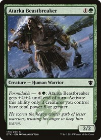 Atarka Beastbreaker, Magic: The Gathering, Dragons of Tarkir
