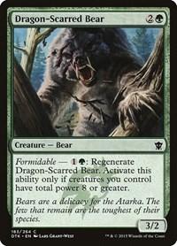 Dragon-Scarred Bear, Magic: The Gathering, Dragons of Tarkir
