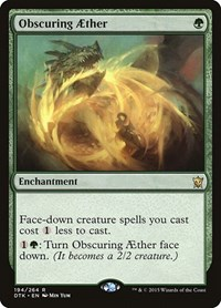 Obscuring Aether, Magic: The Gathering, Dragons of Tarkir