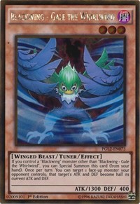 Blackwing - Gale the Whirlwind, YuGiOh, Premium Gold: Return of the Bling