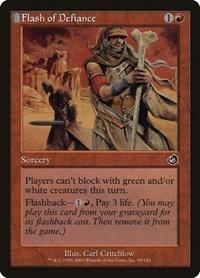 Flash of Defiance, Magic: The Gathering, Torment