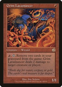 Grim Lavamancer, Magic: The Gathering, Torment