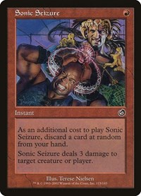 Sonic Seizure, Magic: The Gathering, Torment