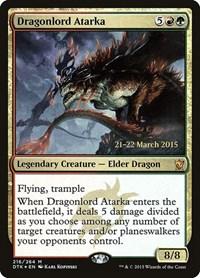 Dragonlord Atarka, Magic: The Gathering, Prerelease Cards