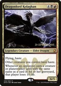 Dragonlord Kolaghan (Foil)
