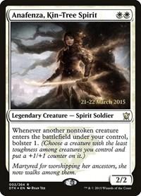 Anafenza, Kin-Tree Spirit, Magic, Prerelease Cards