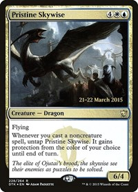 Pristine Skywise, Magic: The Gathering, Prerelease Cards