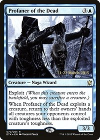 Profaner of the Dead, Magic: The Gathering, Prerelease Cards