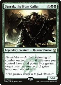 Surrak, the Hunt Caller, Magic: The Gathering, Prerelease Cards