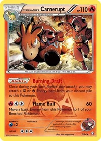 Team Magma's Camerupt, Pokemon, Double Crisis