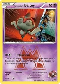 Team Magma's Baltoy, Pokemon, Double Crisis