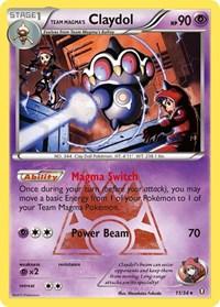 Team Magma's Claydol, Pokemon, Double Crisis