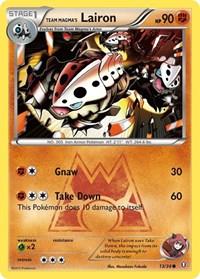 Team Magma's Lairon, Pokemon, Double Crisis