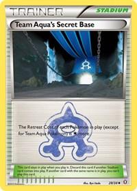Team Aqua's Secret Base, Pokemon, Double Crisis