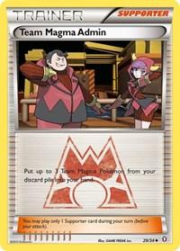 Team Magma Admin, Pokemon, Double Crisis